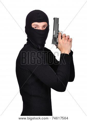 Terrorist With Gun