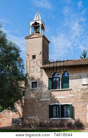 Detail Of The Museum Of Torcello Venice