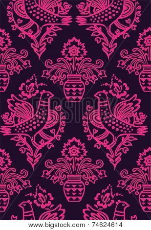 Russian Seamlesss Pattern