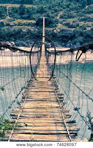 Scary Footbridge