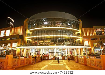 Dubai, Uae - September 9: The Dubai Mall Is The World's Largest Shopping Mall.  It Is Located In Bur