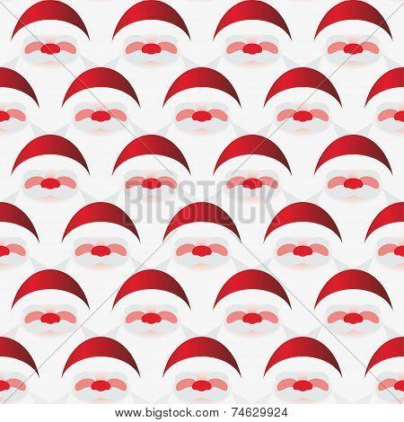 Pattern of Santa Claus