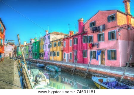 Hdr In Burano