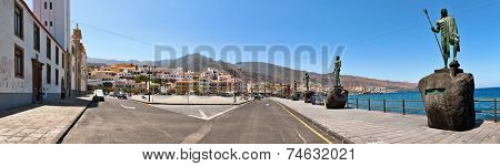 CANDELARIA, SPAIN - JULY 17: Basilica of Our Lady of Candelaria on July 17, 2014 in Candelaria, Tenerife, Spain. The basilica is dedicated to the Virgin of Candelaria, patron of the Canary Islands