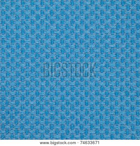 Close - up Blue PVC mesh pattern background seamless