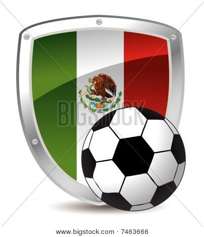 Mexico Shield Soccer