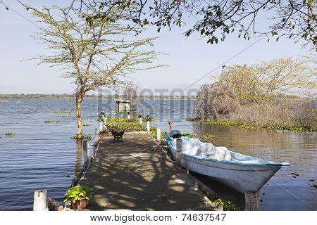 Jetty At Lake Naivasha, Kenya