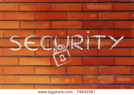 Internet Security, Risks For Privacy And Confidential Info, Lock Design