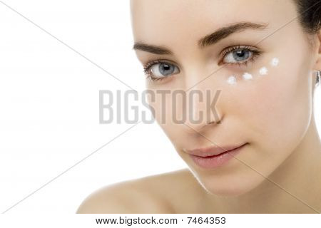 Beauty Treatment Of A Young Lady