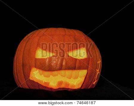 Scary Pumpkin Jack O'Lantern.