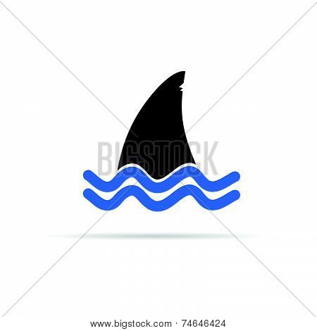 Shark Icon Vector Illustration