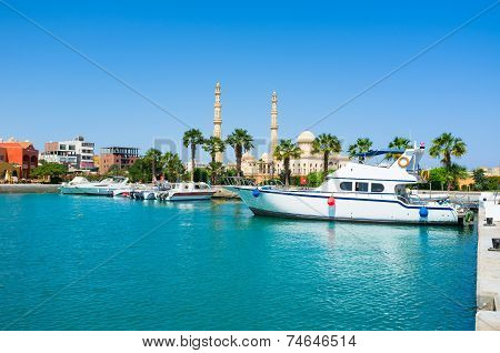 The Harbor Of Hurghada