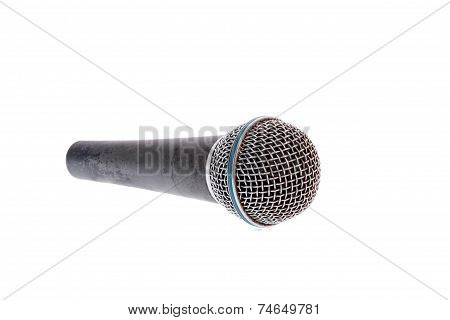 Recording Microphone For Lead Vocal On Live Gig