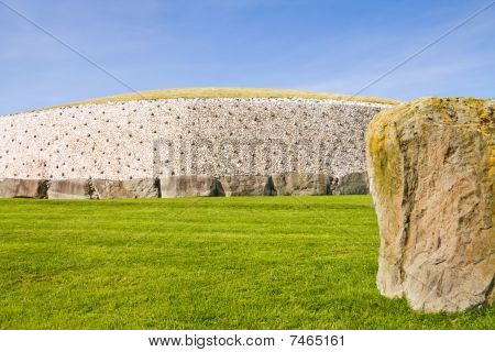 UNESCO site Newgrange in Ireland