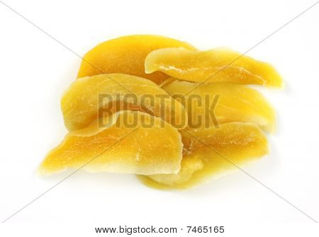 Dehydrated mango slices