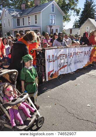 Halloween Parade in Warrenton, VA