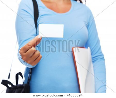 Business Card College Student