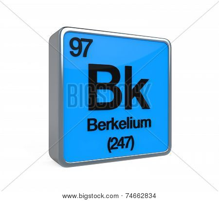 Berkelium Element Periodic Table