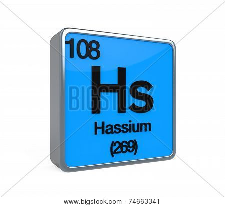 Hassium Element Periodic Table