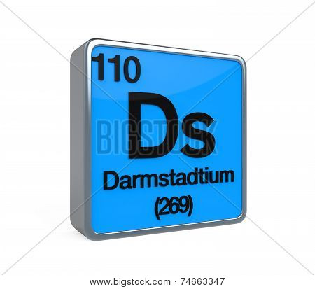 Darmstadtium Element Periodic Table