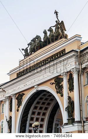 Triumphal Arch, Crowned By The Chariot Of Glory