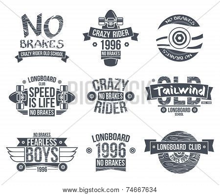 Longboard Club Emblems