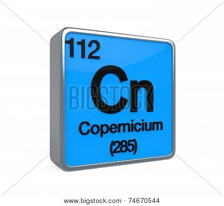 Copernicium Element Periodic Table