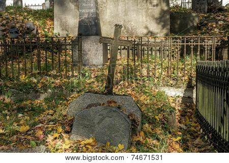 Old Cemetery In Vilnius