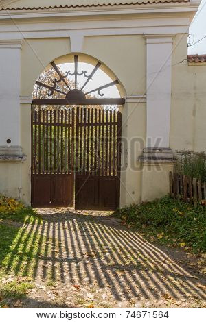Gates To The Cemetery