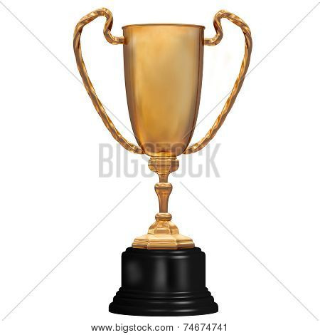 Gold Trophy For First Place