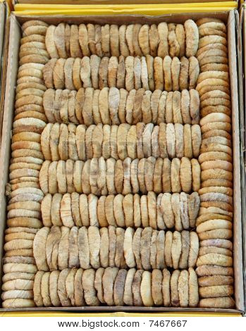 Packed dried figs from Turkey