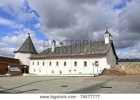 Ancient Tower Of The Kazan Kremlin