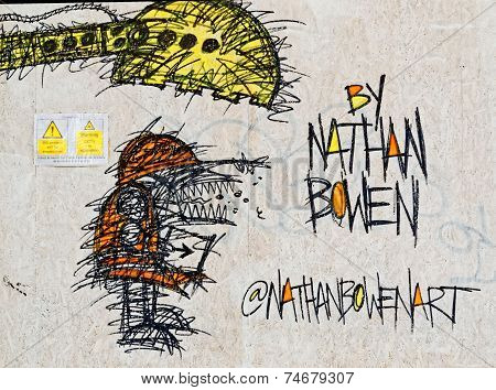 Art piece by Nathan Bowen