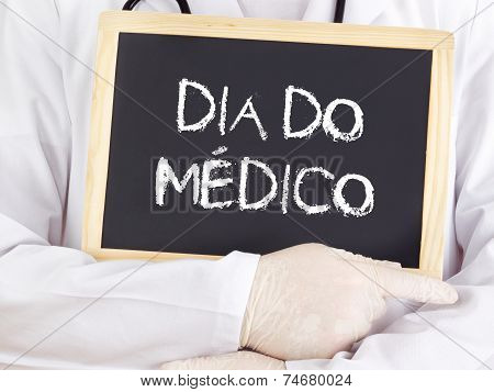Doctor Shows Information: Doctors Day In Portugues