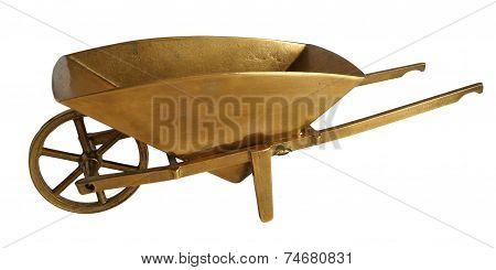 Bronze Wheelbarrow