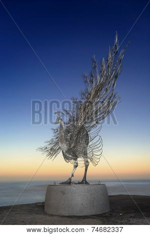 Peacock - Sculpture By The Sea