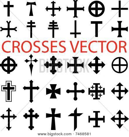 various religious symbols
