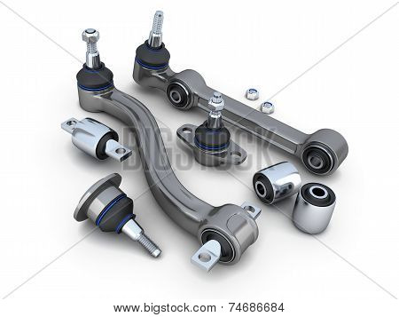 Suspension Arm And Ball Joint Car