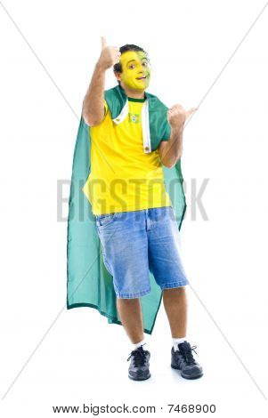 brasilianische supporter