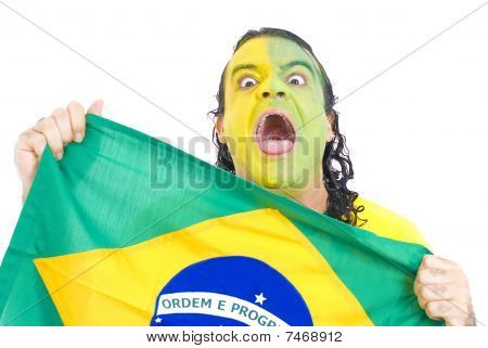 brasilianische supporter