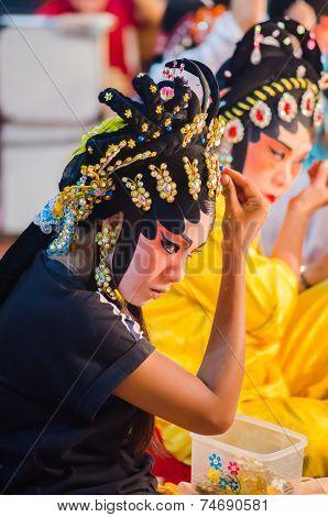 Chinese Opera Actress