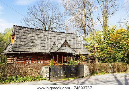 The Traditional Bicameral House In Zakopane