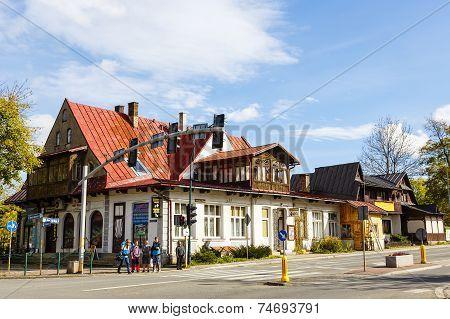 Villa Ochotnicki In Zakopane