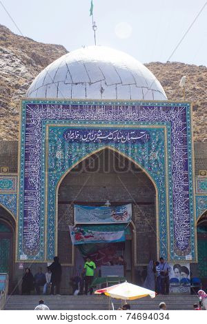 The shrine of Khwaja Murad