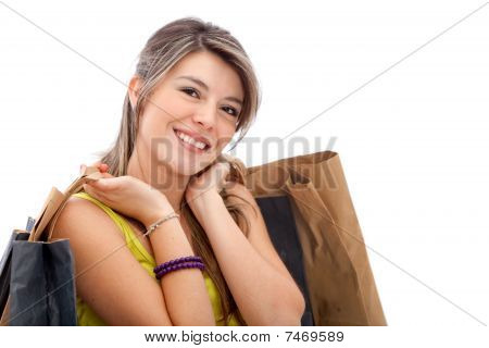 Beautiful Shopping Girl