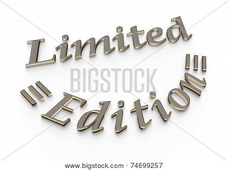 Limited Edition Product Badge.
