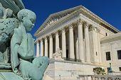 stock photo of supreme court  - Supreme Court Building architectural details  - JPG
