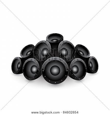 speakers.