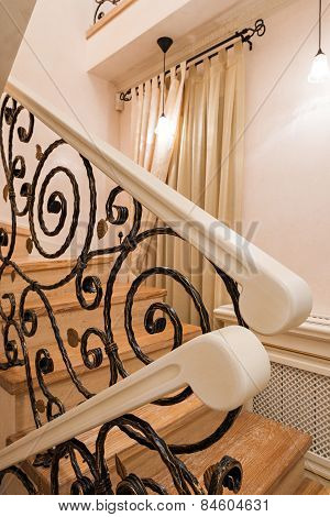 Handrail Of The Banister