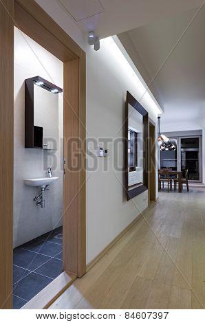Toilet In Home Interior